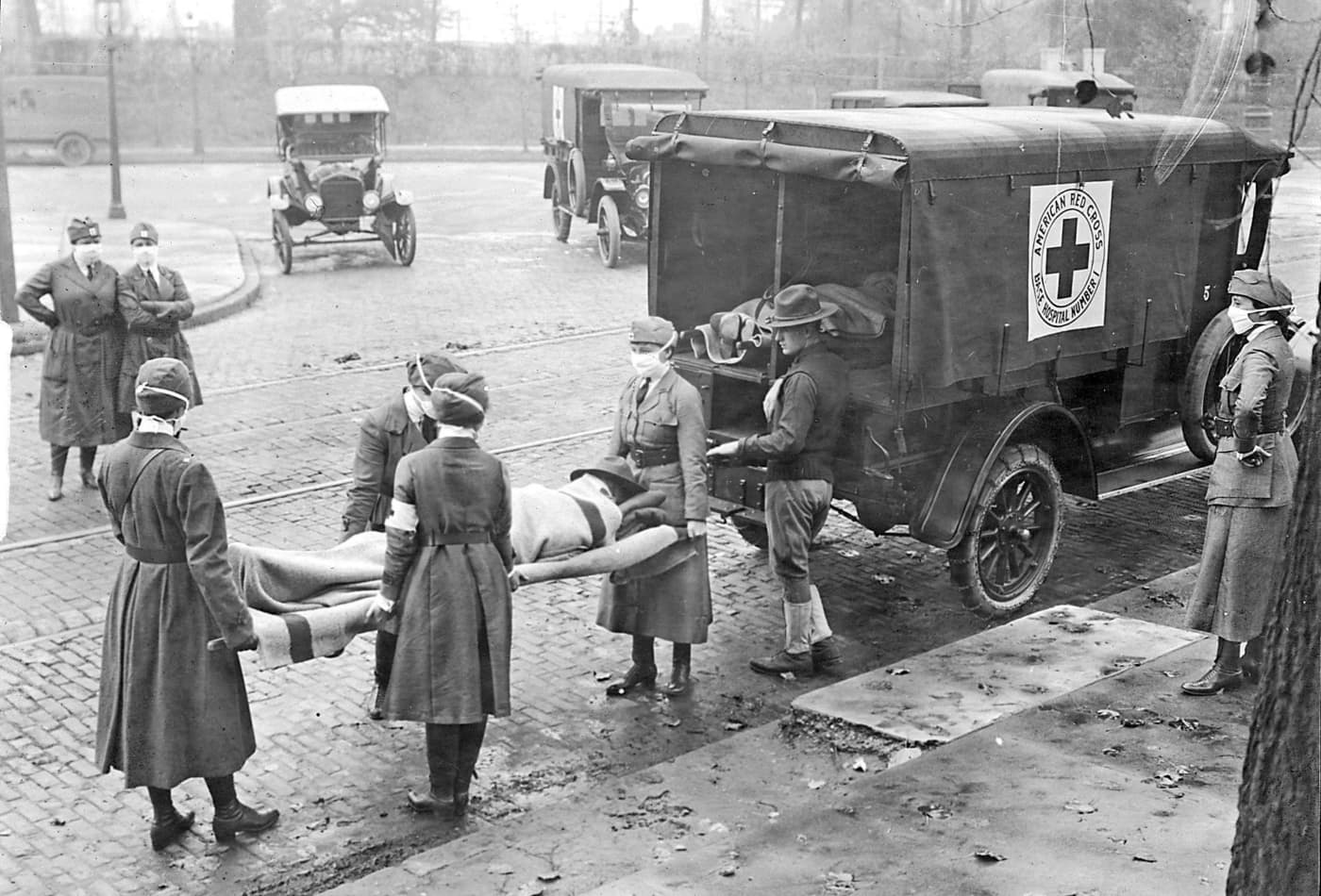 Scientists say the coronavirus is at least as deadly as the 1918 flu pandemic