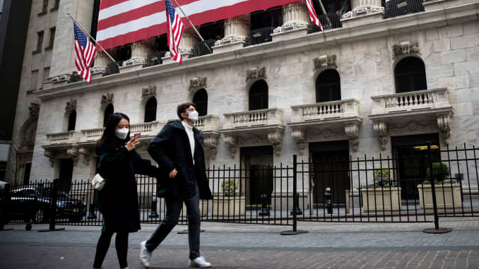 The New York Stock Exchange said Wednesday it will temporarily close its trading floor and move to fully electronic trading because of the COVID-19 outbreak.