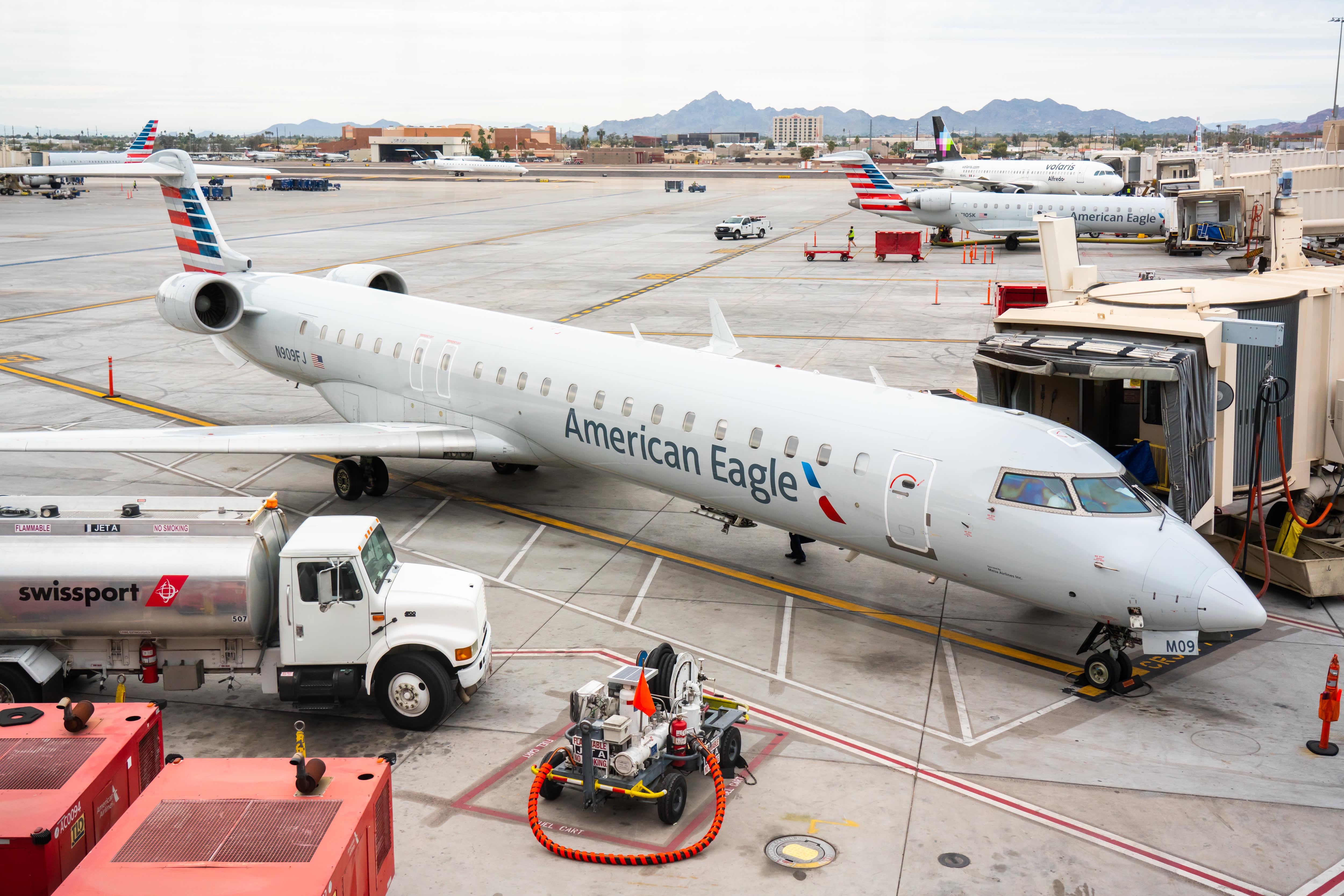 Coronavirus prompts US regional US airline Compass to shut