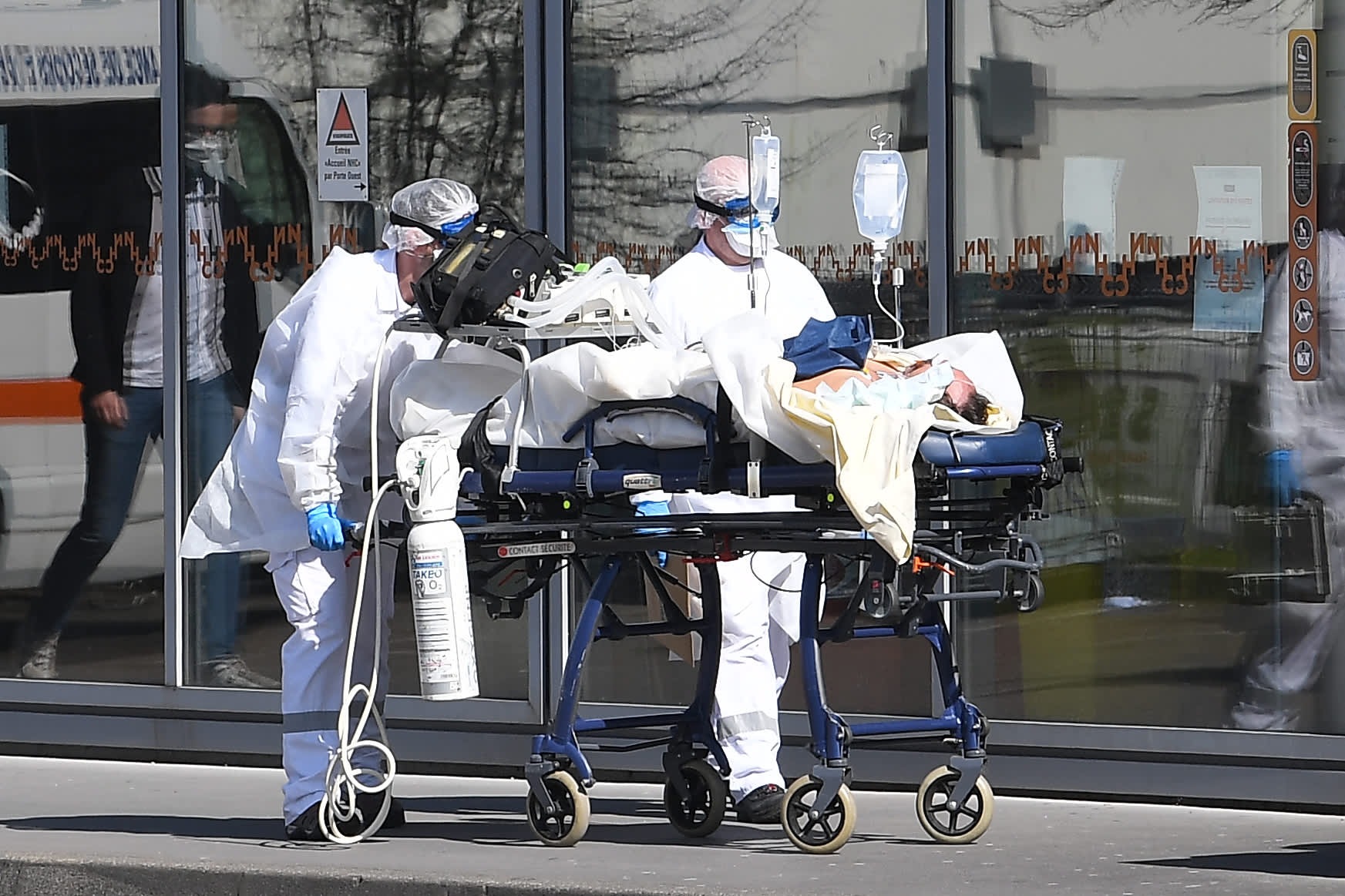 WHO says parts of Europe reporting 'worrying' rise in coronavirus hospitalizations