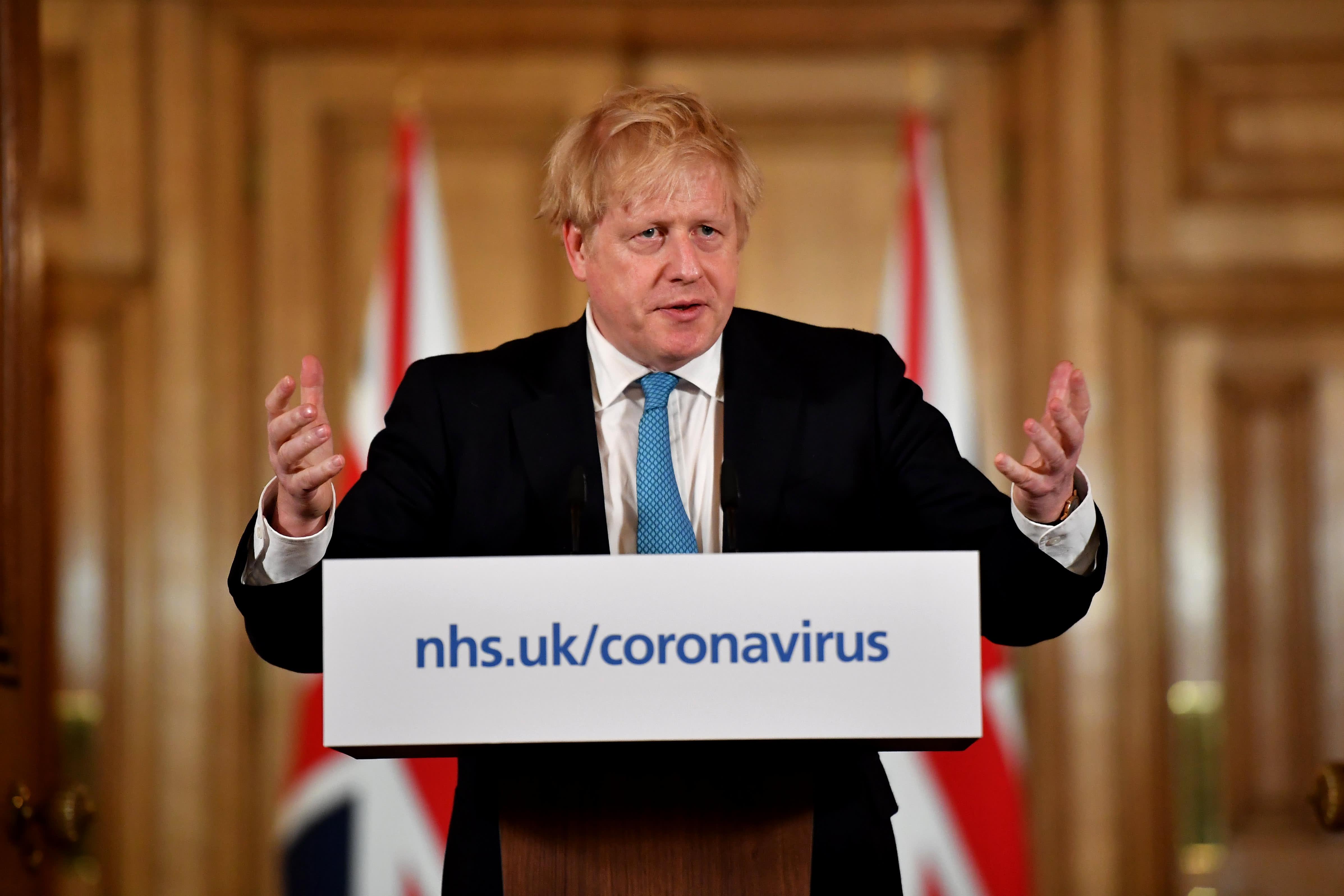 Coronavirus Uk Boris Johnson Announces Lockdown Measures Nationwide