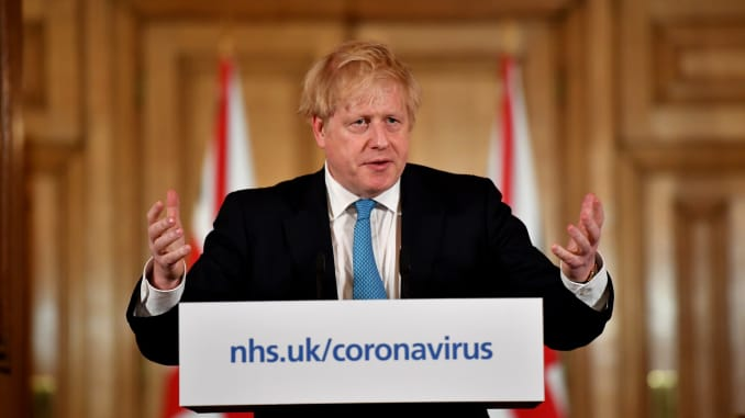 GP: British Prime Minister Gives Daily Address To The Nation On Coronavirus 200320 EU