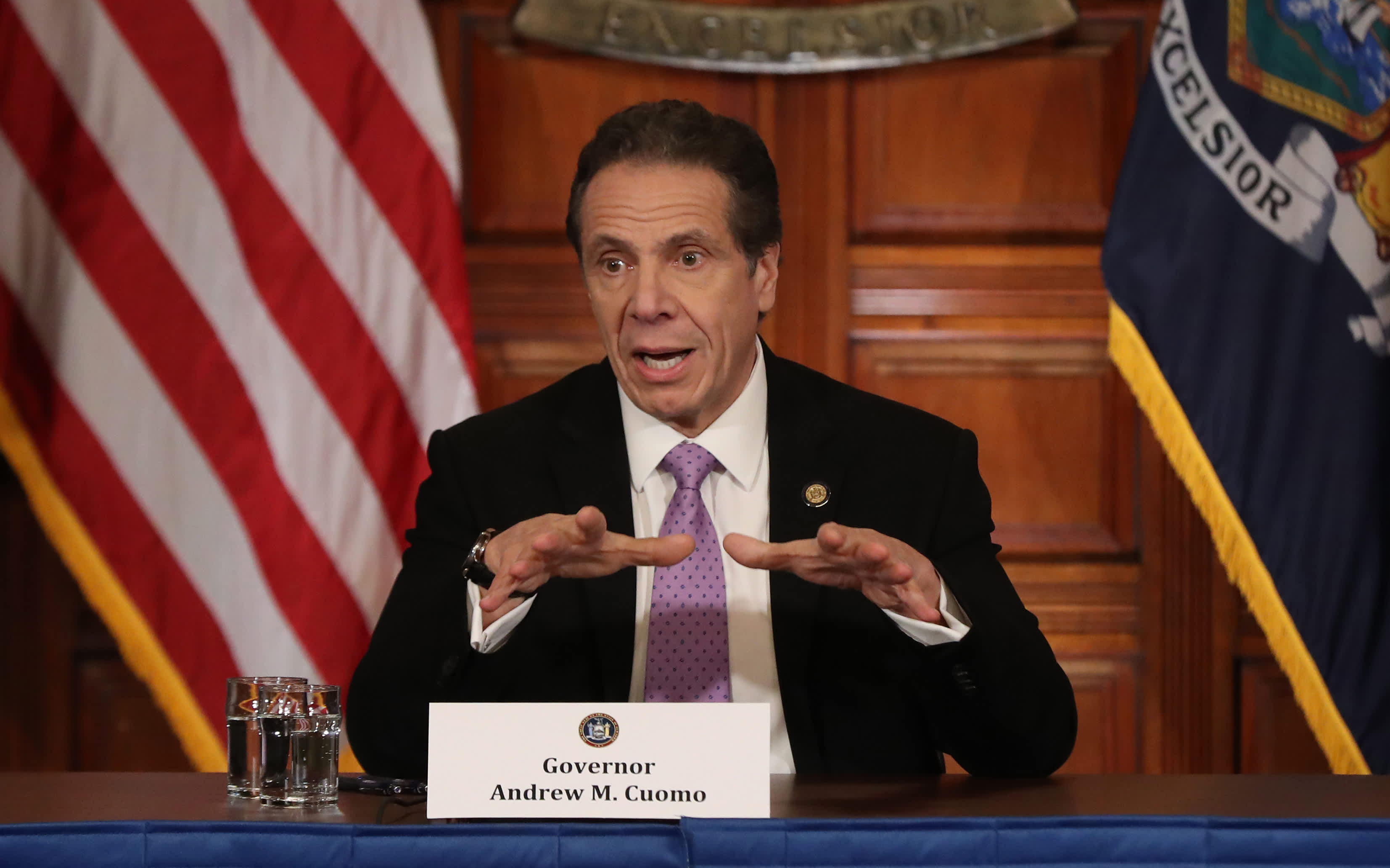 Cuomo calls $2 trillion bill irresponsible and reckless