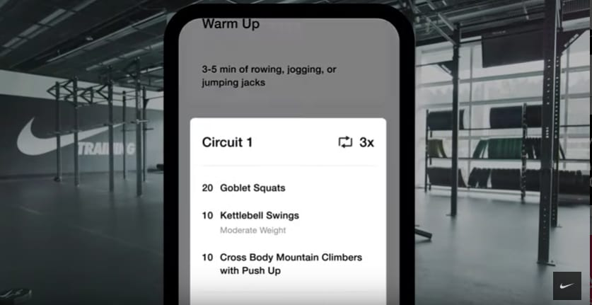 Nike gets more exercise app users, and it's driving online sales