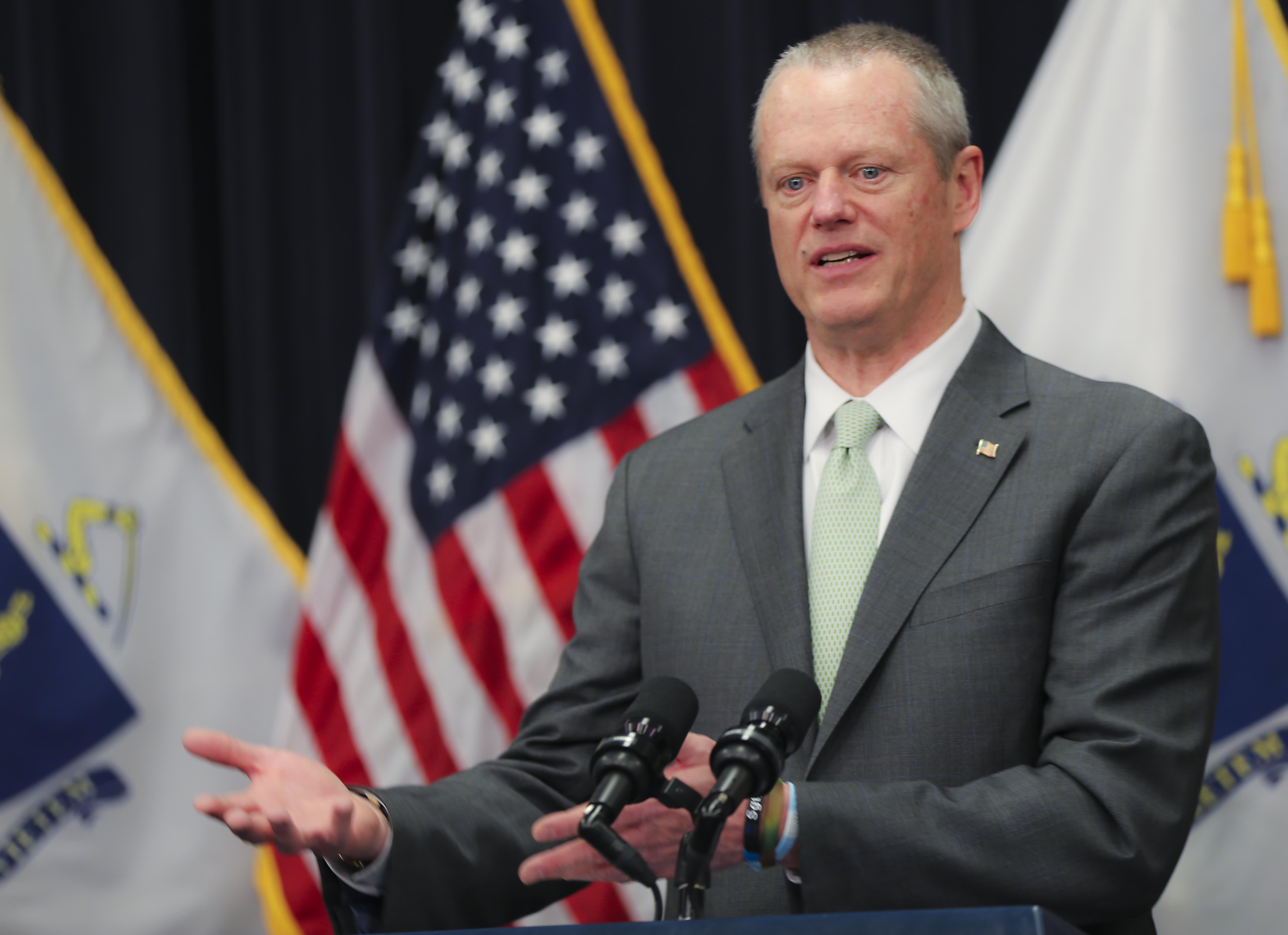 Massachusetts shutters nonessential businesses until April 7, Gov. Baker announces