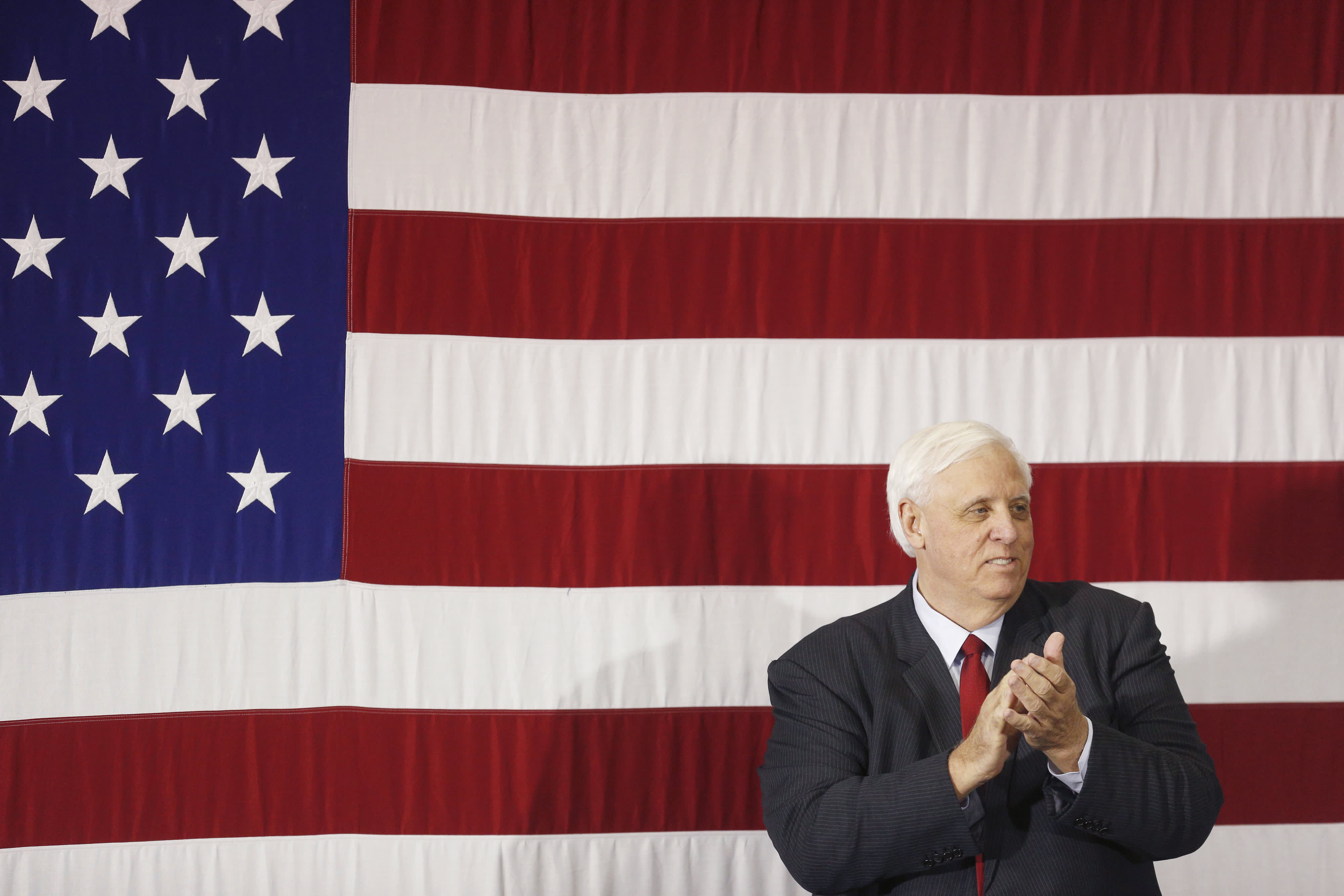 WV Gov. Jim Justice acknowledges Biden presidency, but says U.S. is not ready to move away from coal and gas