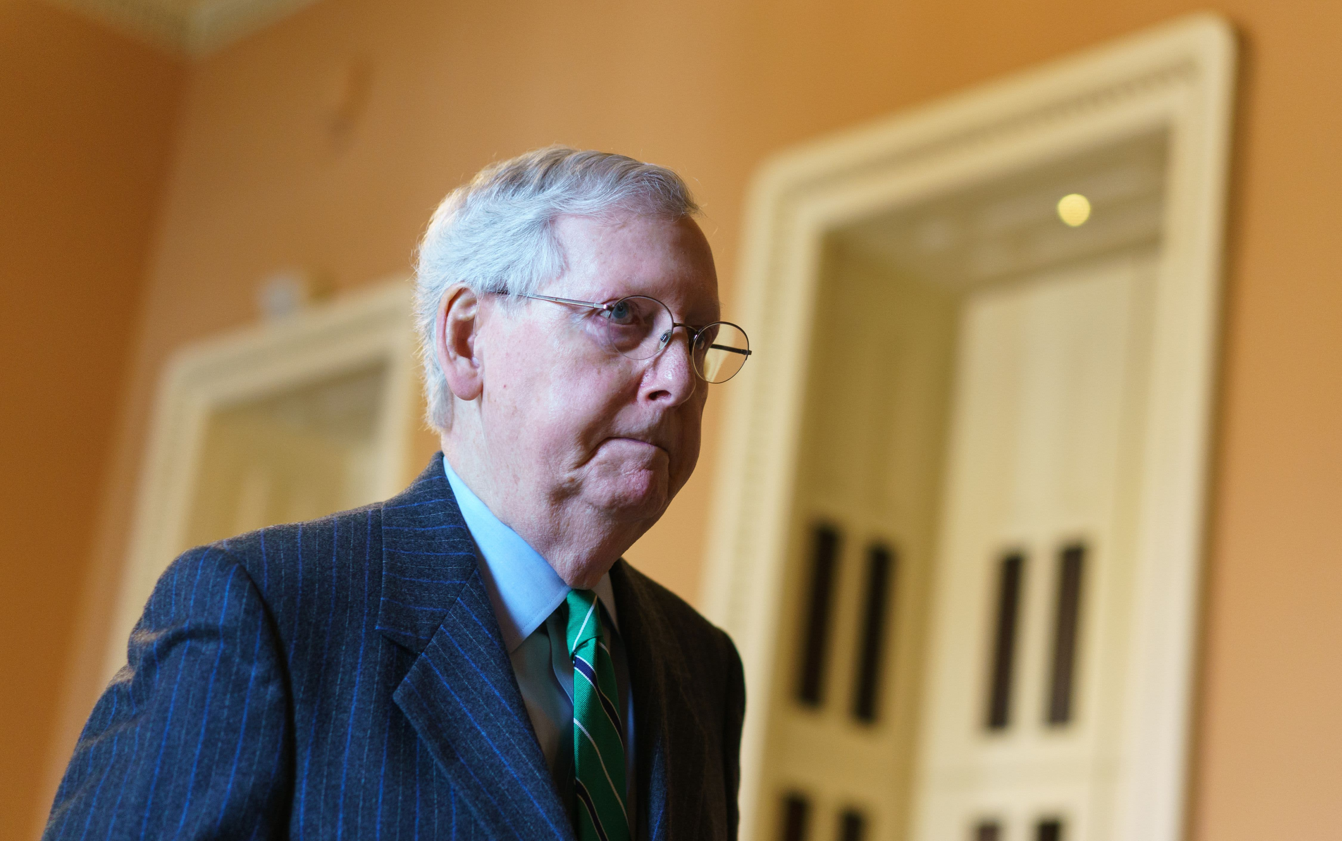 Coronavirus stimulus: Mitch McConnell says relief bill will be final one
