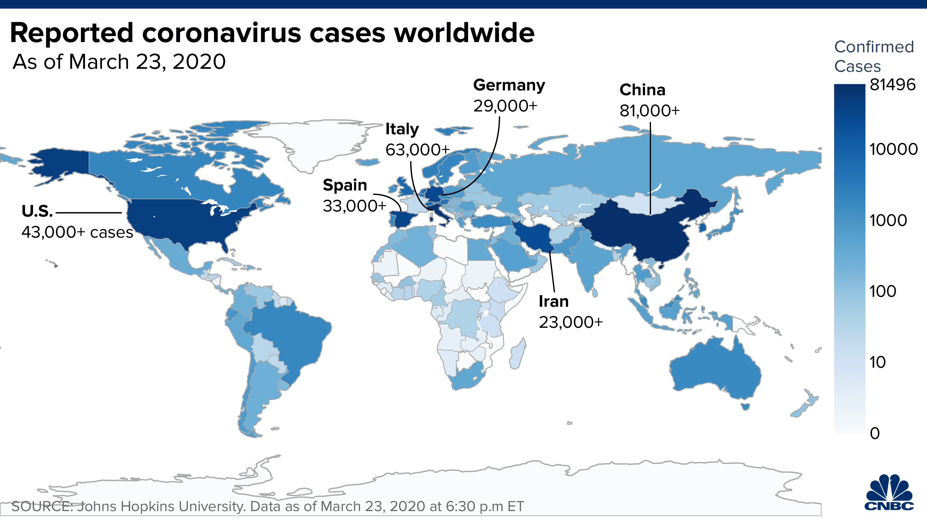 Global coronavirus cases cross 400,000, doubling in a week as pandemic accelerates