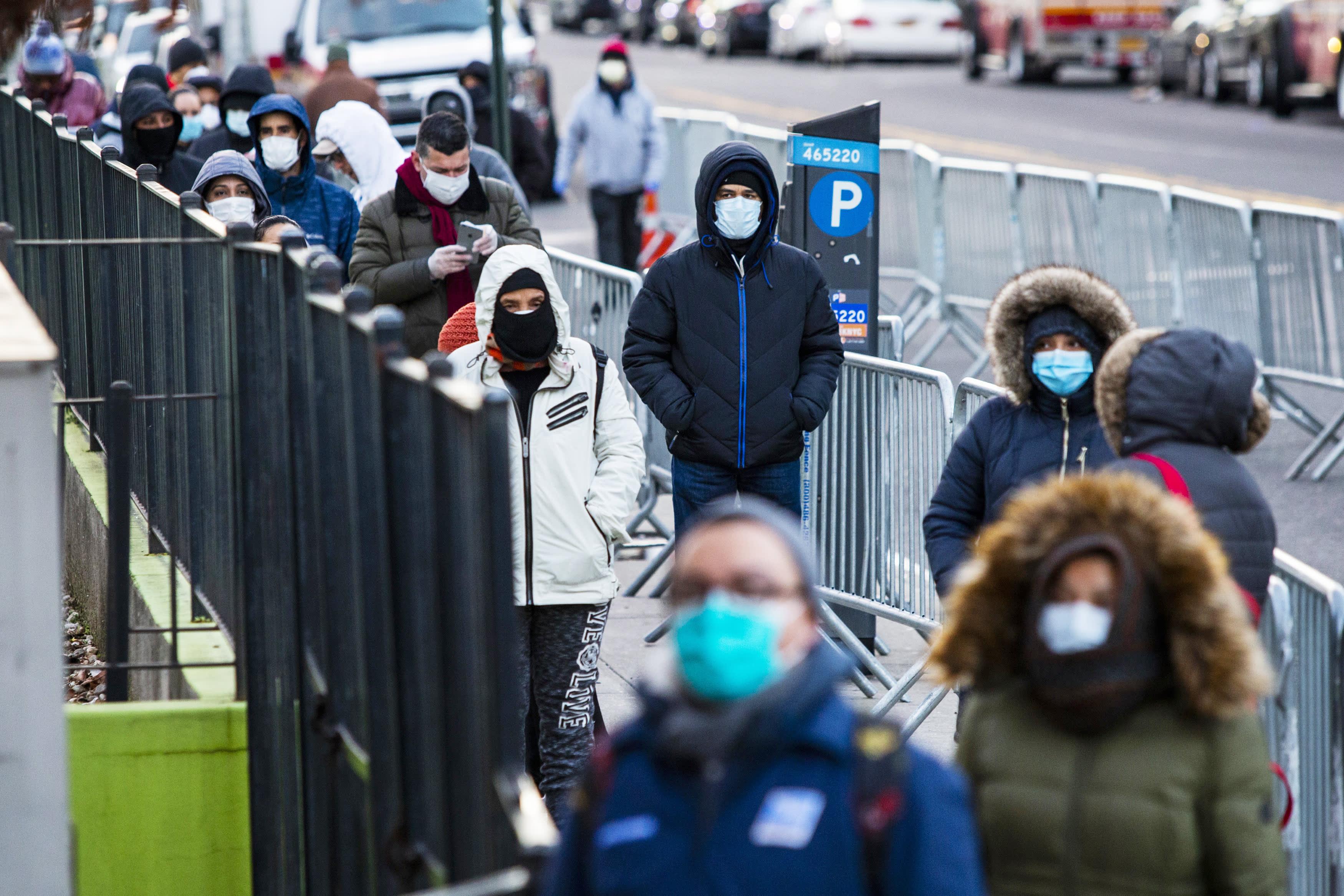 New York hospitals battle coronavirus as hundreds of patients flood in: 'We must not break'
