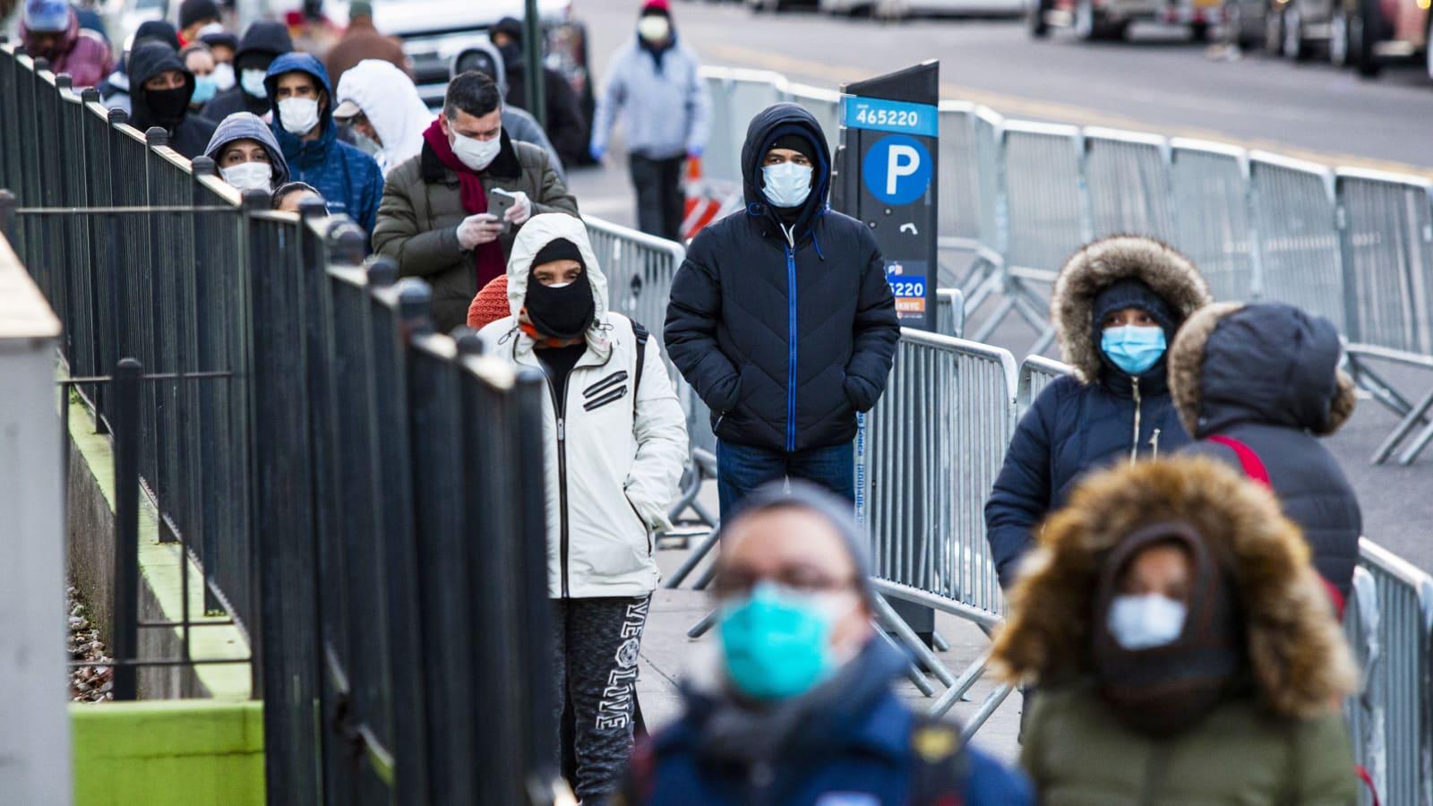 Hundreds flood NYC hospital ICU and ERs as global coronavirus cases top  466,000