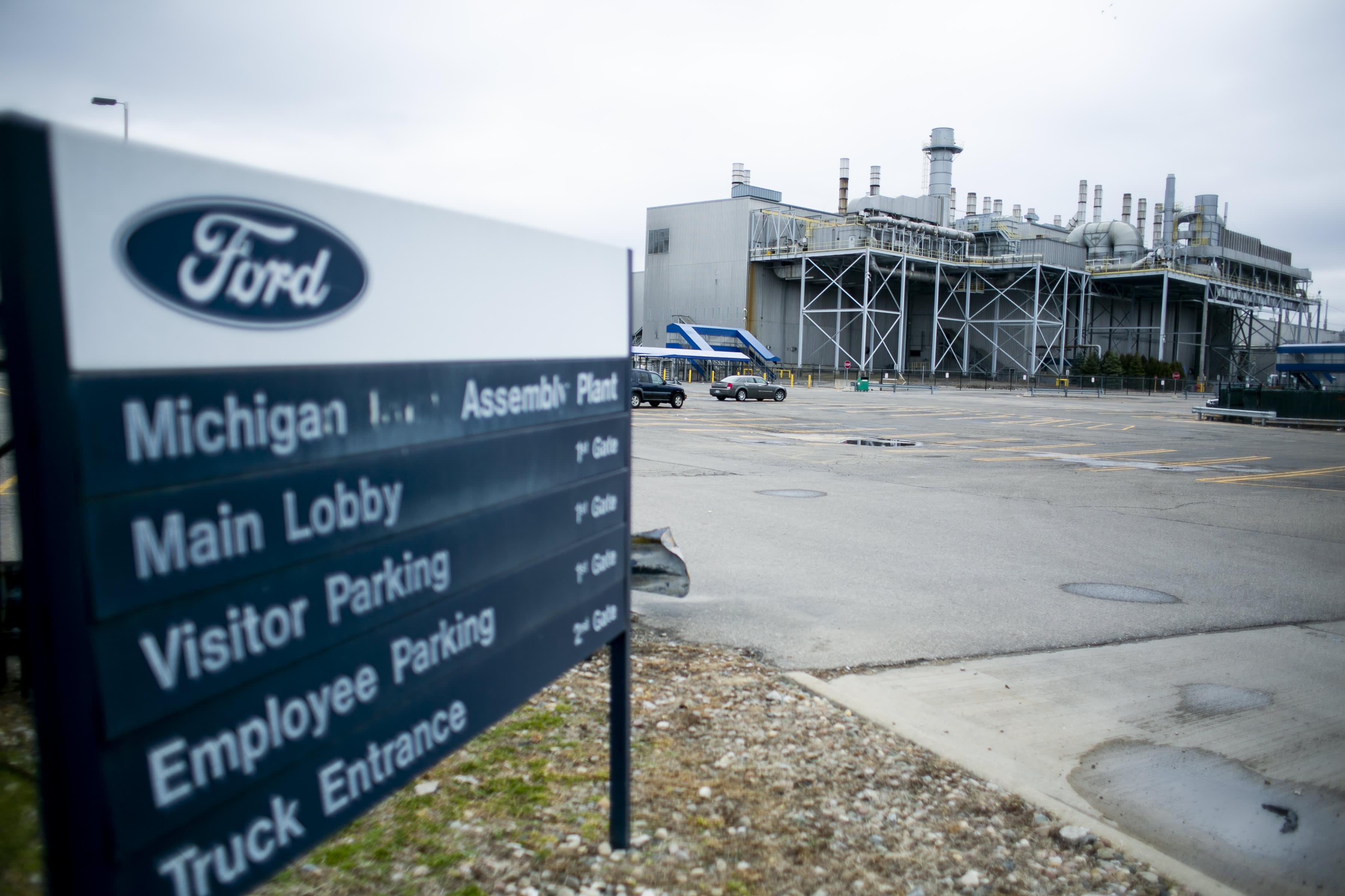 Ford postpones reopening 'key' plants due to coronavirus pandemic