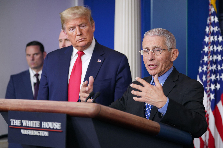 Coronavirus: White House health advisor Fauci says US needs to be prepared for second cycle