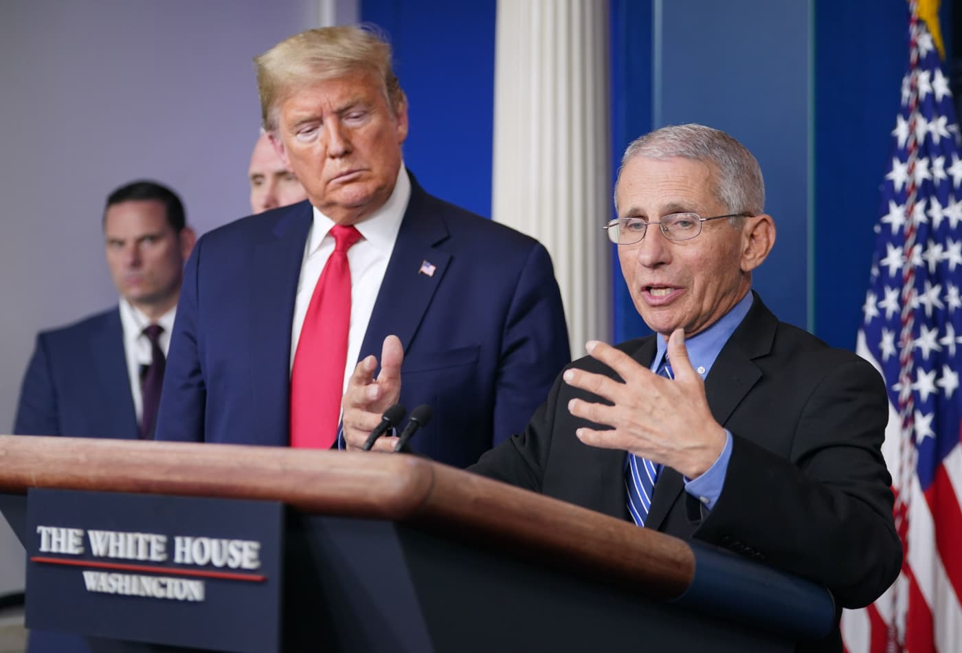 Coronavirus: White House health advisor Fauci says US needs to be prepared for second cycle
