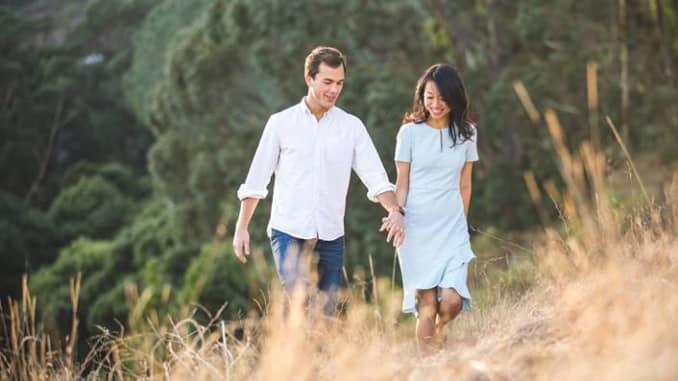 H/O: Kyle Matson and Tracy Meng. San Francisco Zoom Wedding