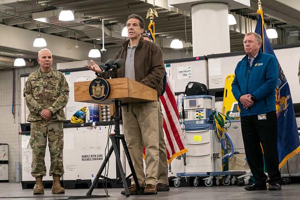 Gov. Cuomo, the National Guard and FEMA transform the Javits Center into a hospital