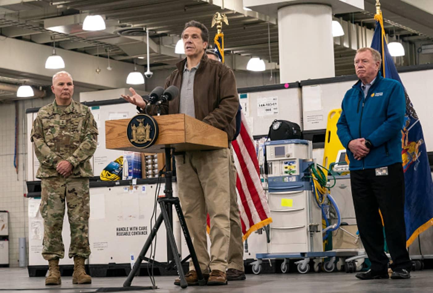 Coronavirus: Gov. Cuomo, the National Guard and FEMA transform the Javits Center into a hospital