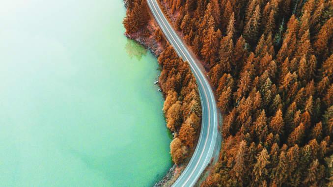 GP: diablo lake aerial view 200330