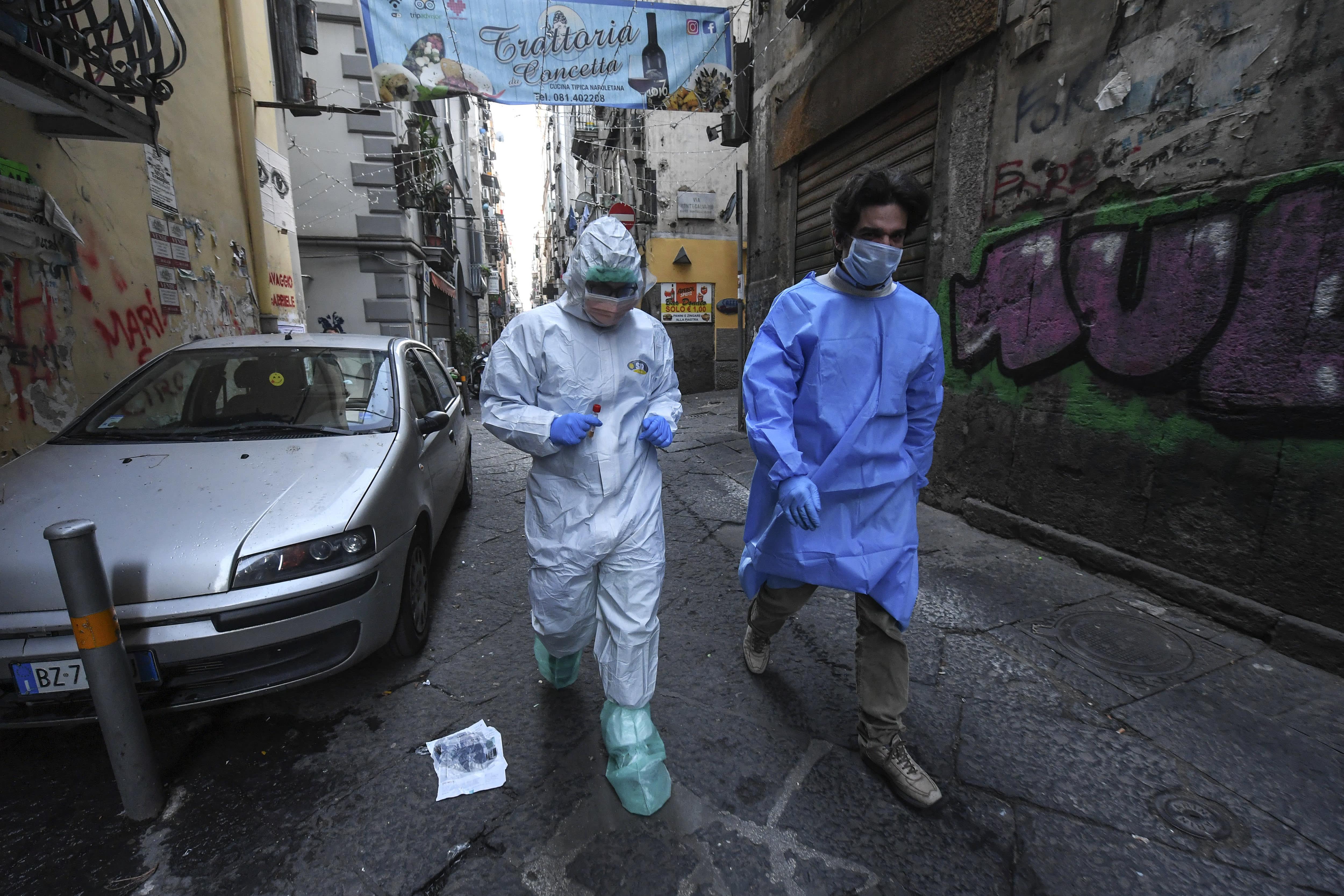 Southern Italians brace themselves for coronavirus outbreak