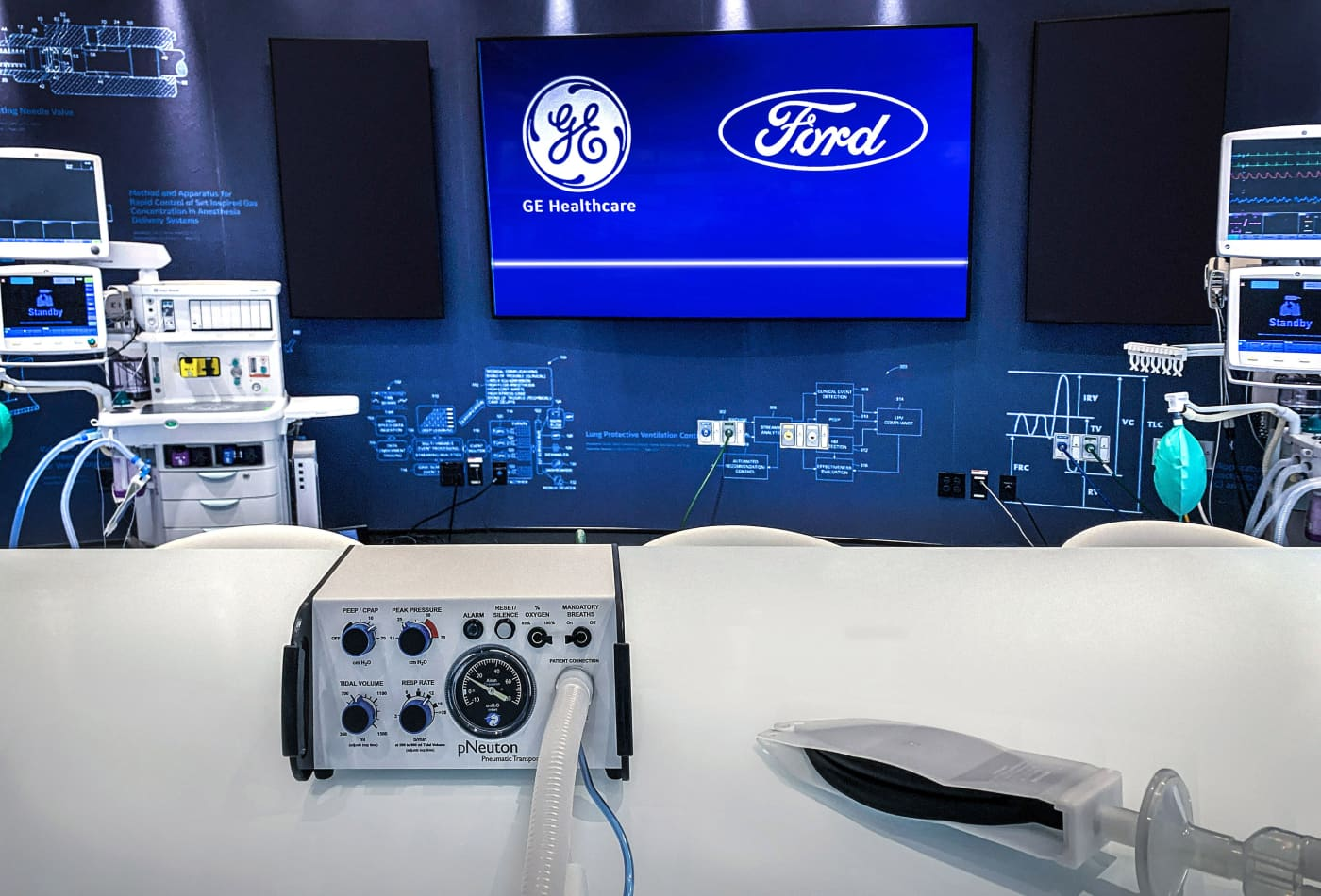 Ford, GE plan to produce 50,000 ventilators in 100 days