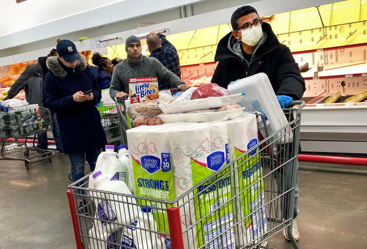 Coronavirus delivers a record blow to U.S. retail sales in March