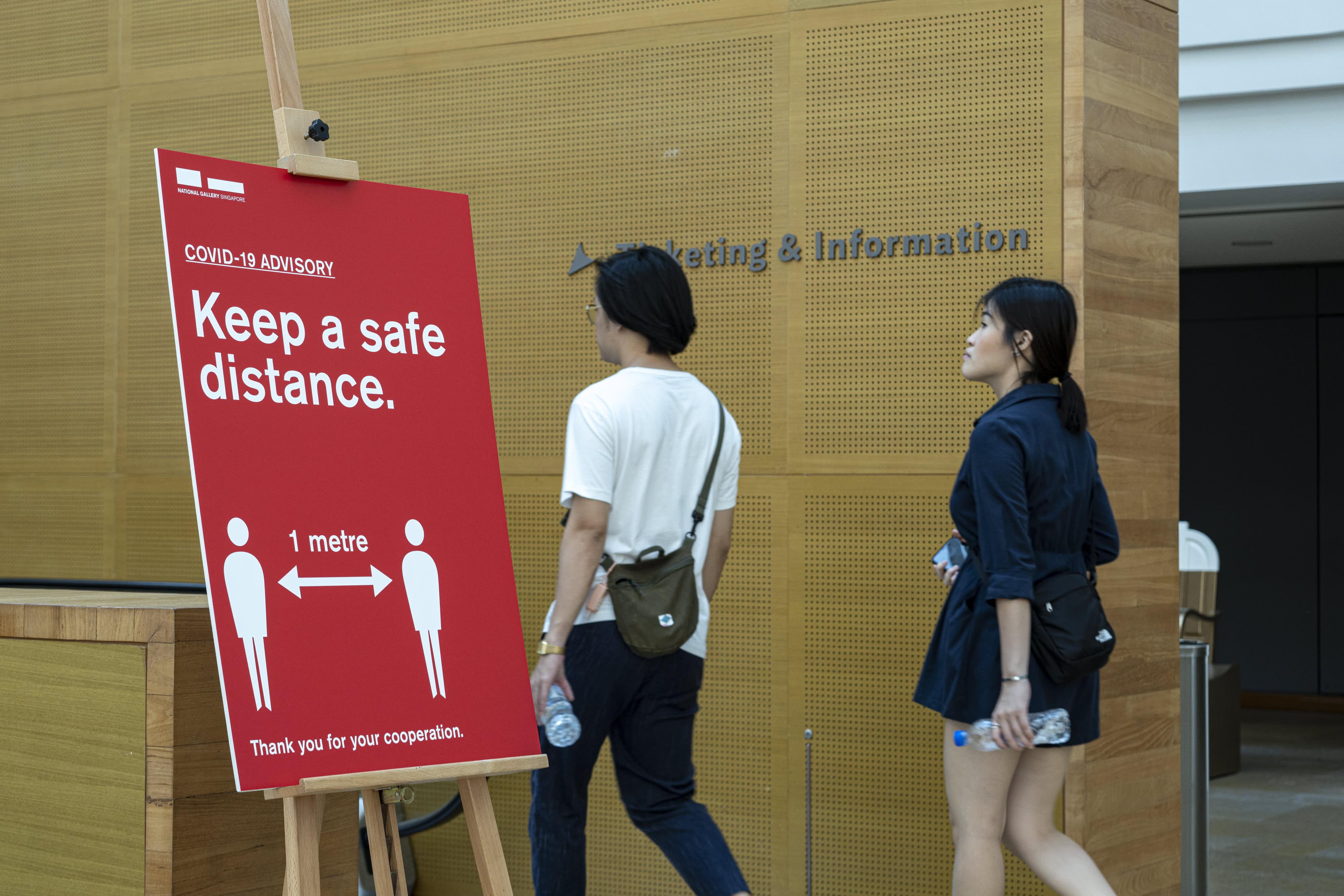 Coronavirus live updates: Singapore quarantines workers