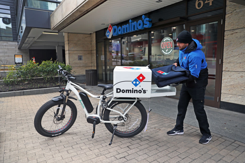 Domino's stock falls after pizza chain's same-store sales disappoint