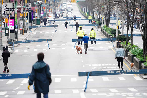 New York City to open streets to pedestrians as the weather warms