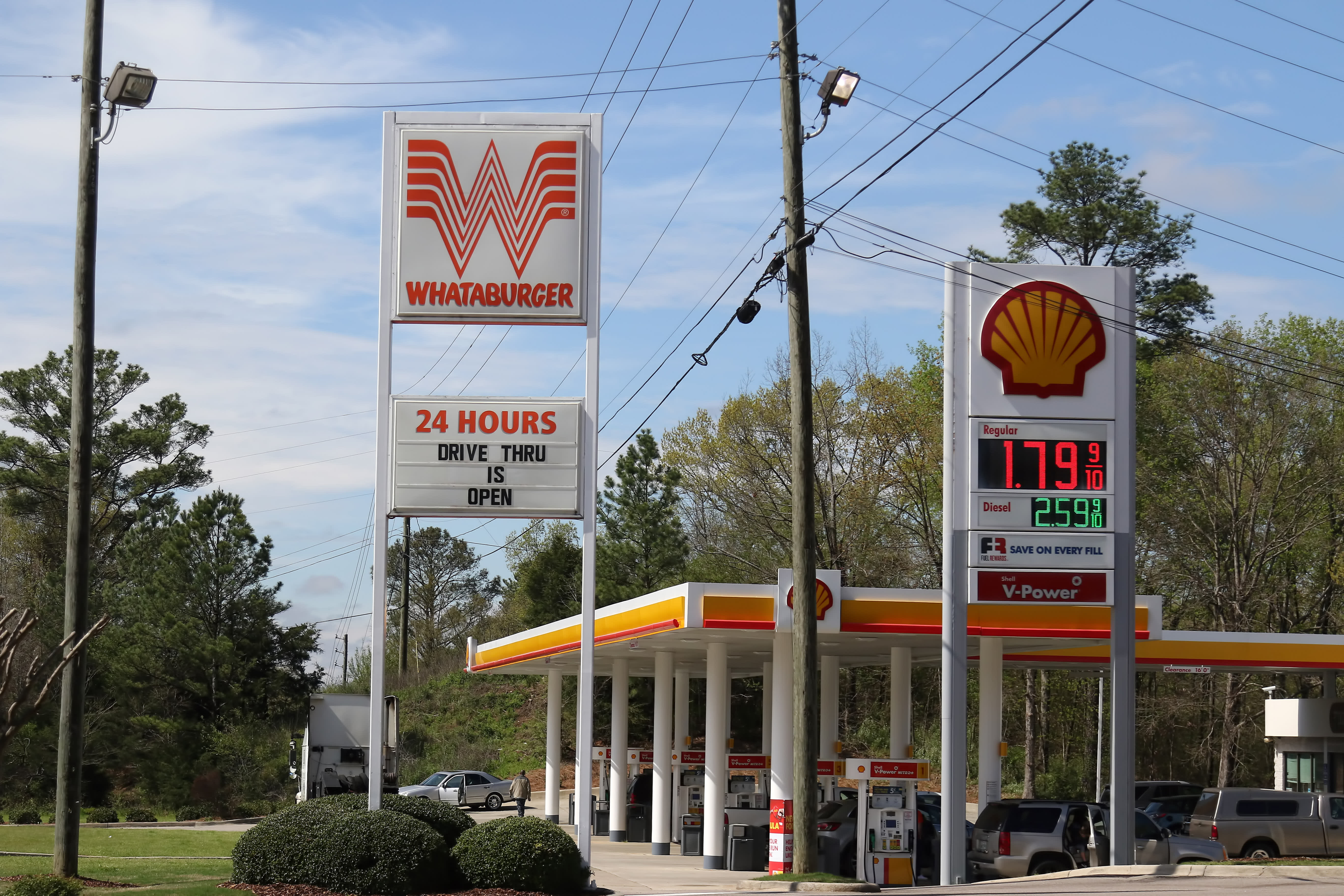 US gasoline prices are below $2 per gallon on average for first time in four years