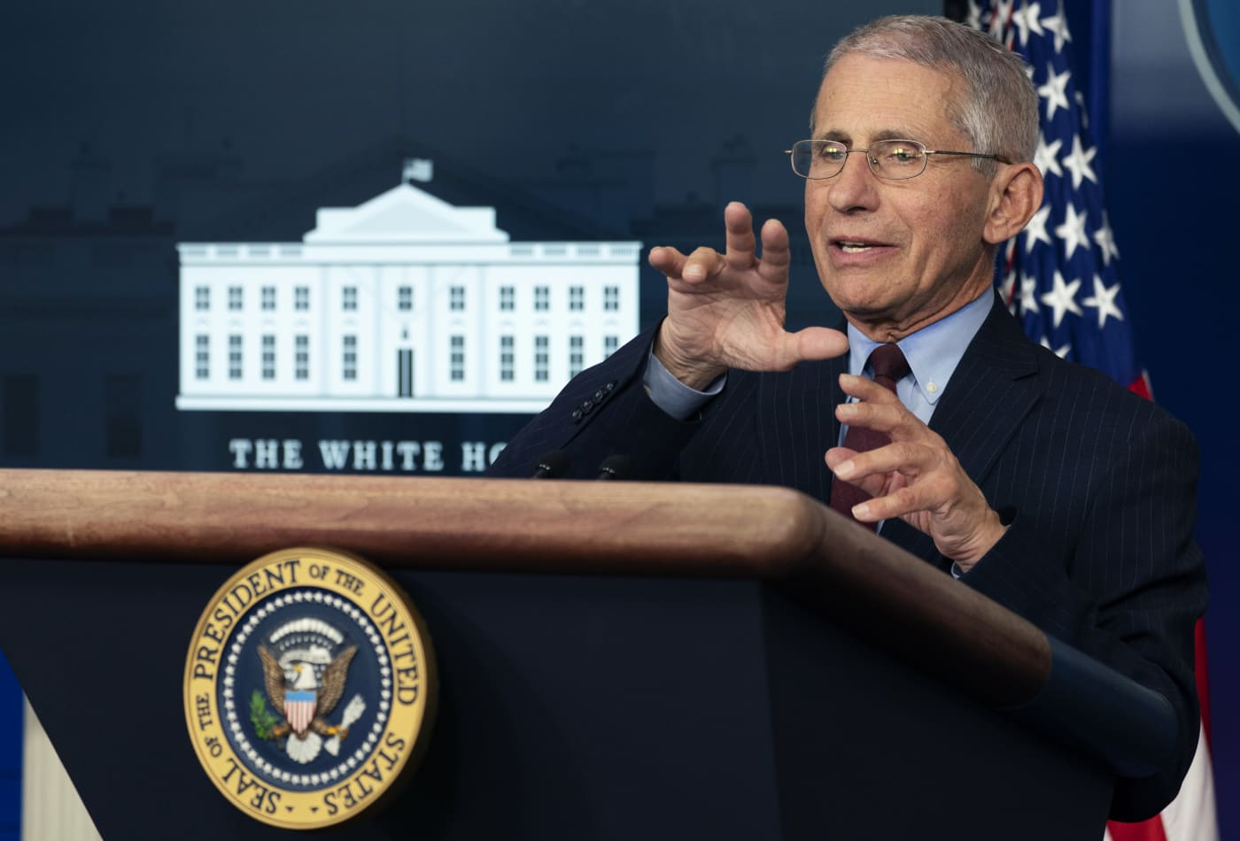 White House advisor Fauci says coronavirus vaccine trial is on target and will be 'ultimate game changer'