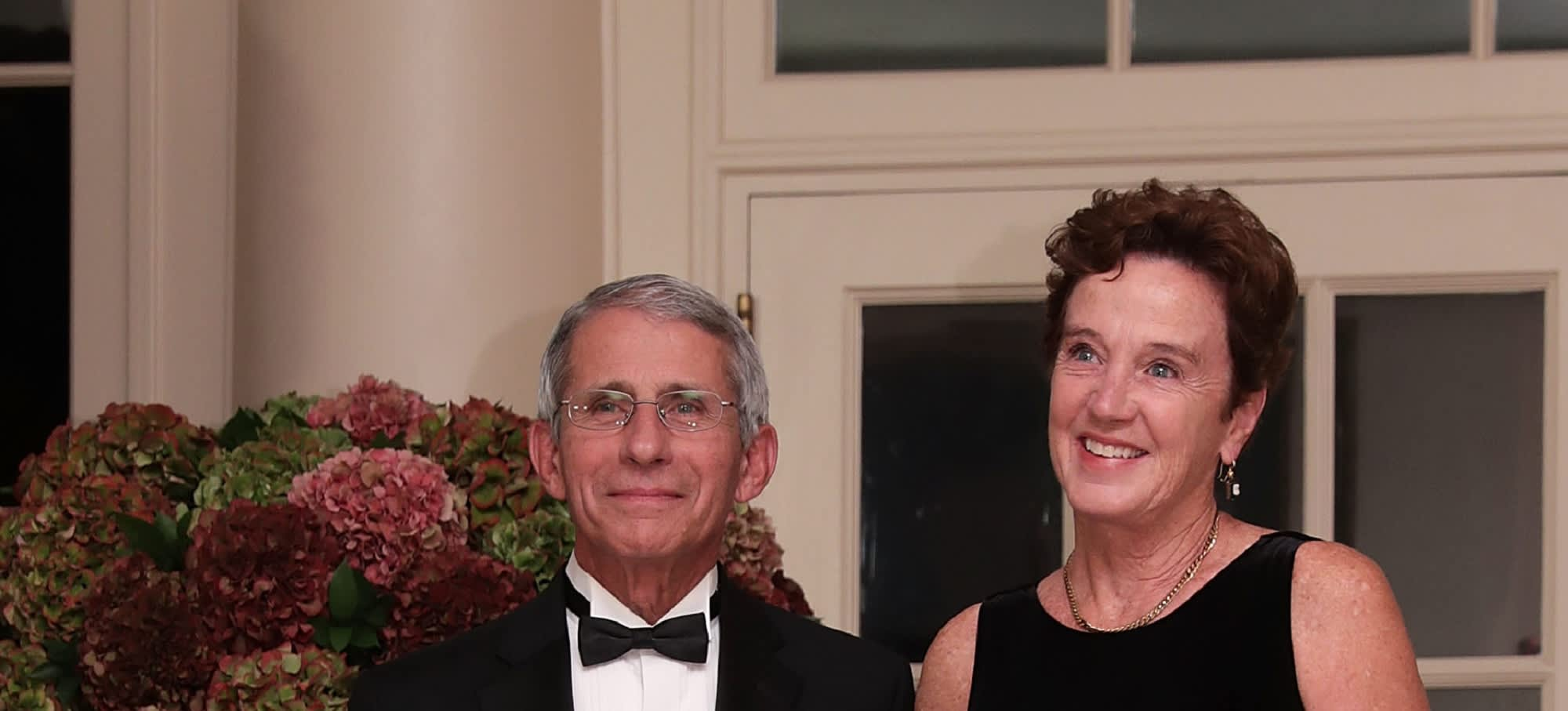 White House advisor Anthony Fauci's wife on his hectic schedule