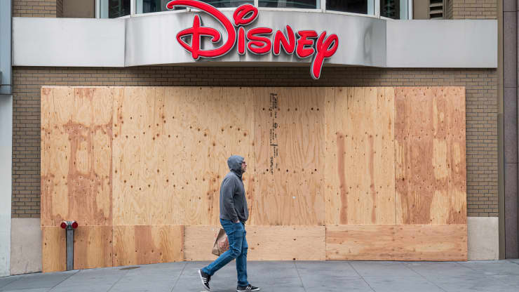 Disney announced it will close 20% of its 300 retail stores