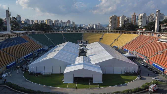 GP: Coronavirus Temporary Hospitals: Sao Paulo Brazil