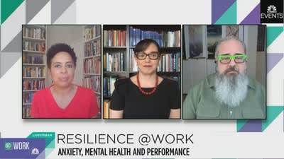 Resilience At Work: Anxiety, Mental Health and Performance