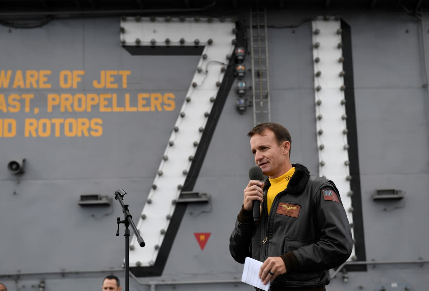 Navy captain fired after writing letter asking for coronavirus help has reportedly tested positive