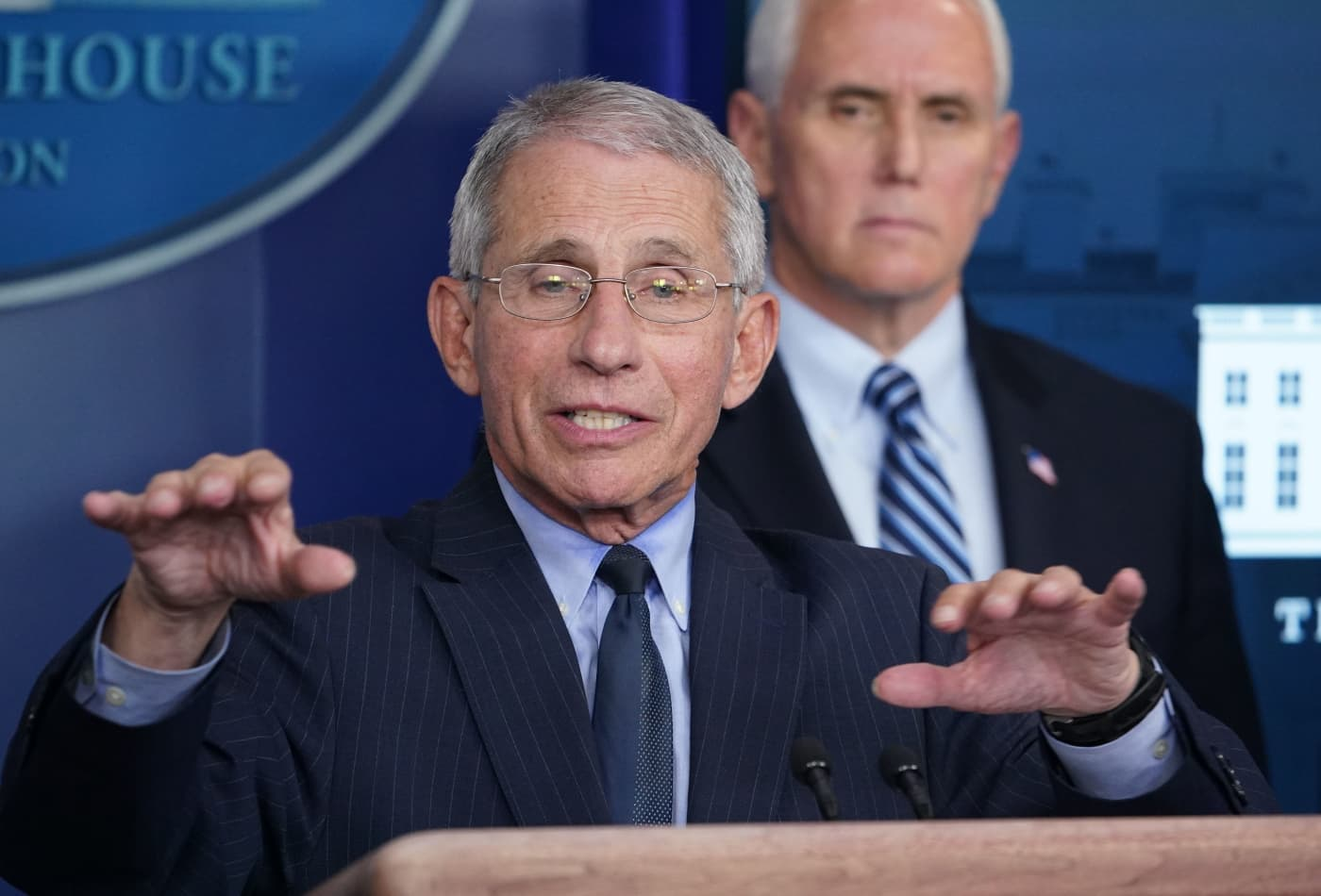 White House health advisor Fauci says we may never get back to 'normal' after coronavirus pandemic
