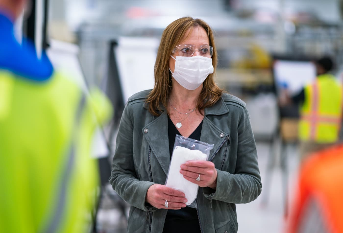 GM offers manufacturing blueprints for face masks to 600 auto parts suppliers amid virus pandemic
