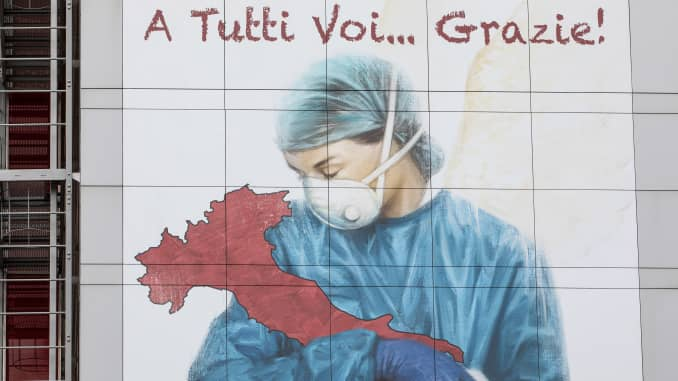 GP: Coronavirus Murals: Italy Extends Coronavirus Lockdown