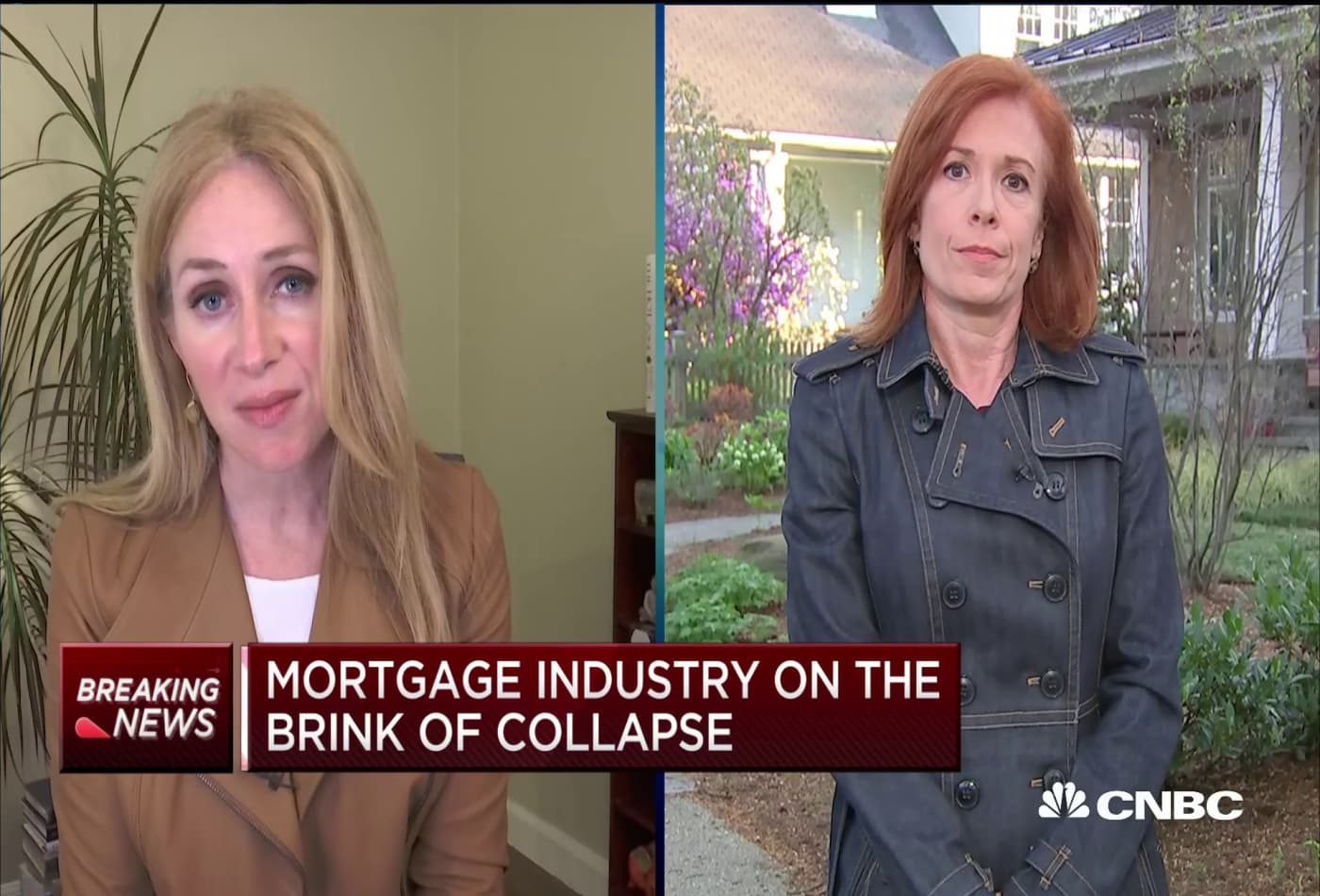Mortgage industry on the brink of collapse