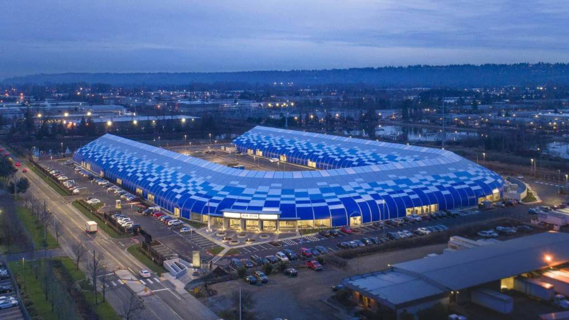 Blue Origin's headquarters in Kent, Washington.