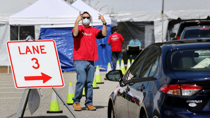 Coronavirus Testing What To Expect If You Go To A Drive Thru Test Site