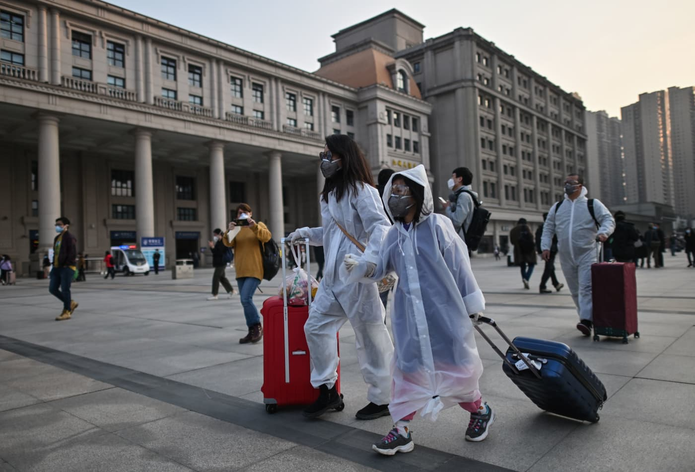 China tourism revenue drops nearly 60% in first major holiday since coronavirus outbreak