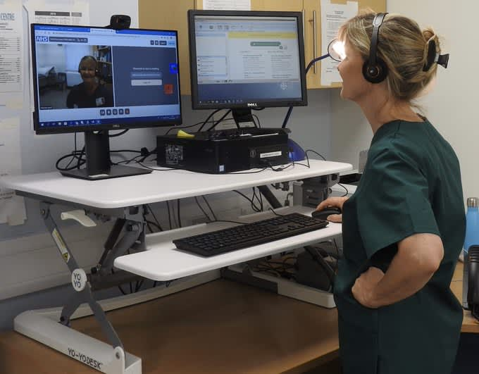 Demand for telemedicine has exploded in the UK as doctors adapt to the coronavirus crisis