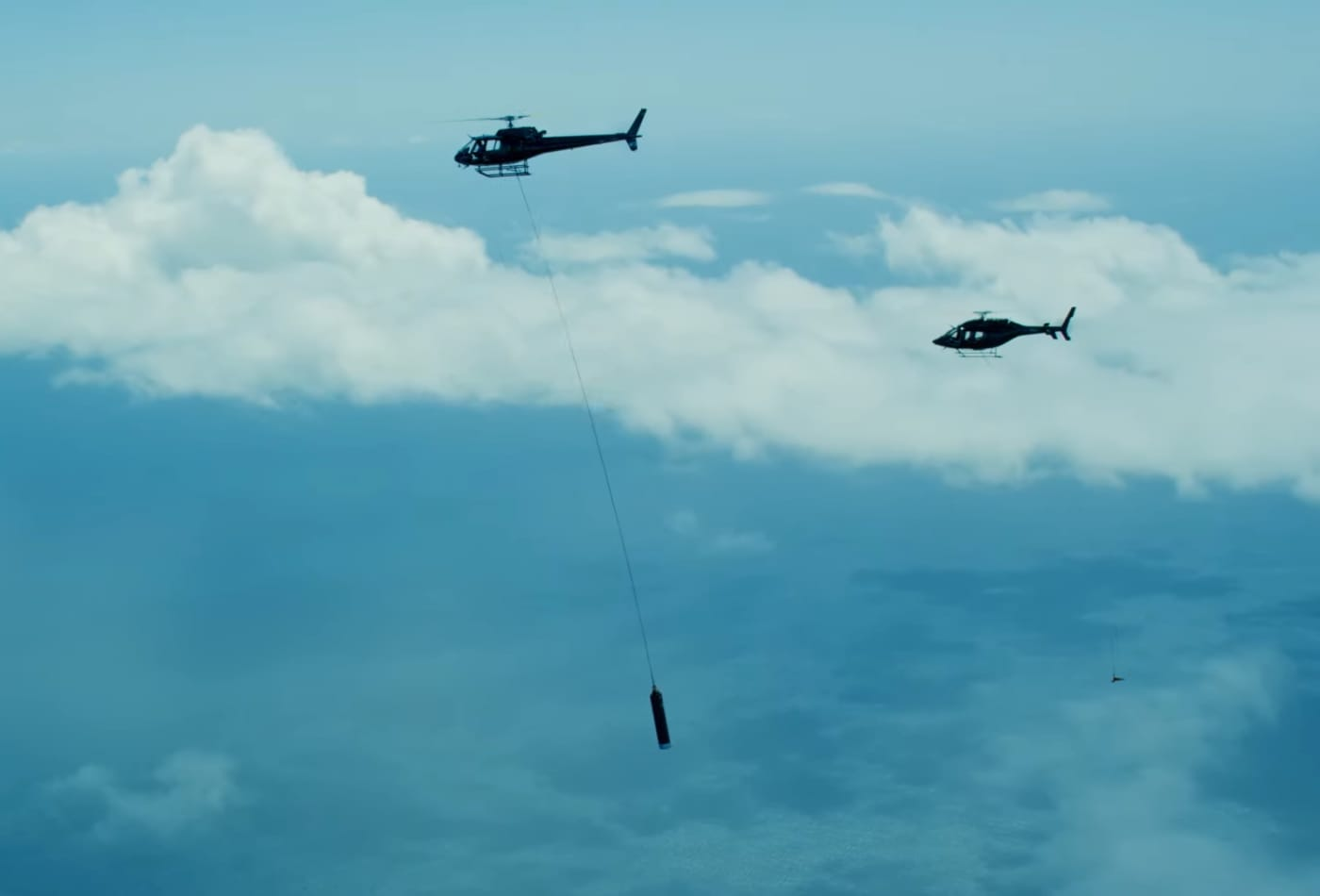 Rocket Lab's helicopter snagged a parachute from the sky in a key test toward reusing rockets