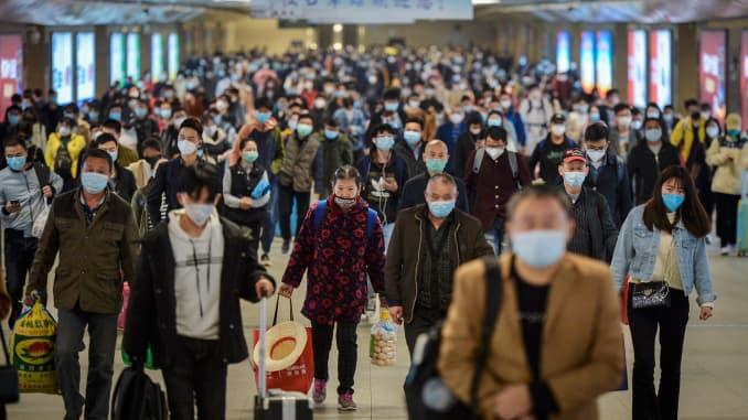 GP: Coronavirus CHINA WUHAN LOCKDOWN LIFTED