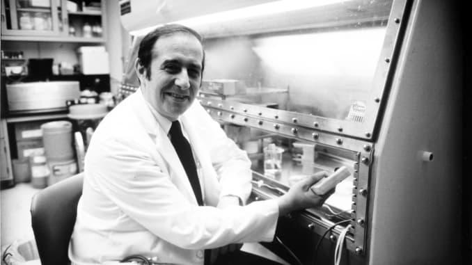 Dr. Stanley Plotkin, inventor of the rubella vaccine