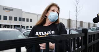 Amazon says it could soon begin testing some warehouse workers for the coronavirus