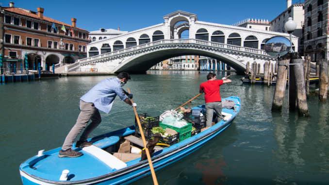 Premium: Italy Sees Drop In Coronavirus Cases After Weeks Of Lockdown