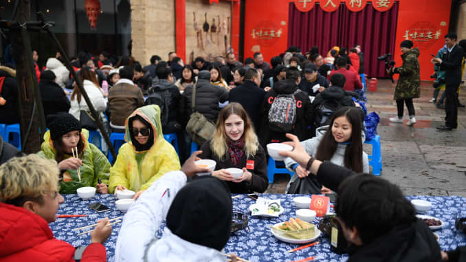 GP: Overseas students in China to celebrate Lunar New Year