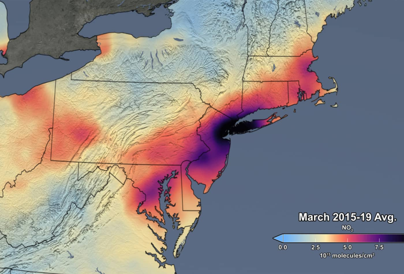 Air pollution drops 30% in Northeast US as coronavirus lockdown slows travel: NASA