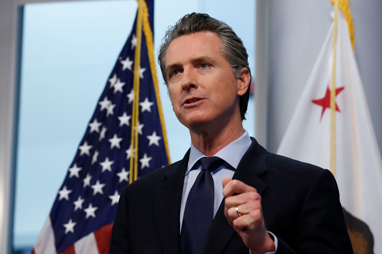 California Gov. Gavin Newsom unveils guide to lifting coronavirus restrictions